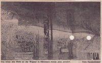 Zeitung: Das letzte alte Wehr an der Wupper in Hämmern wurde zerstört.